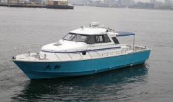 ファミリーホール鶴ヶ峰の海洋散骨、東神奈川桟橋出港10名様プラン242,000円