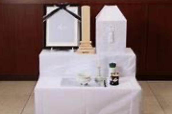 ファミリーホール鶴ヶ峰、骨葬プラン後飾り段のご案内