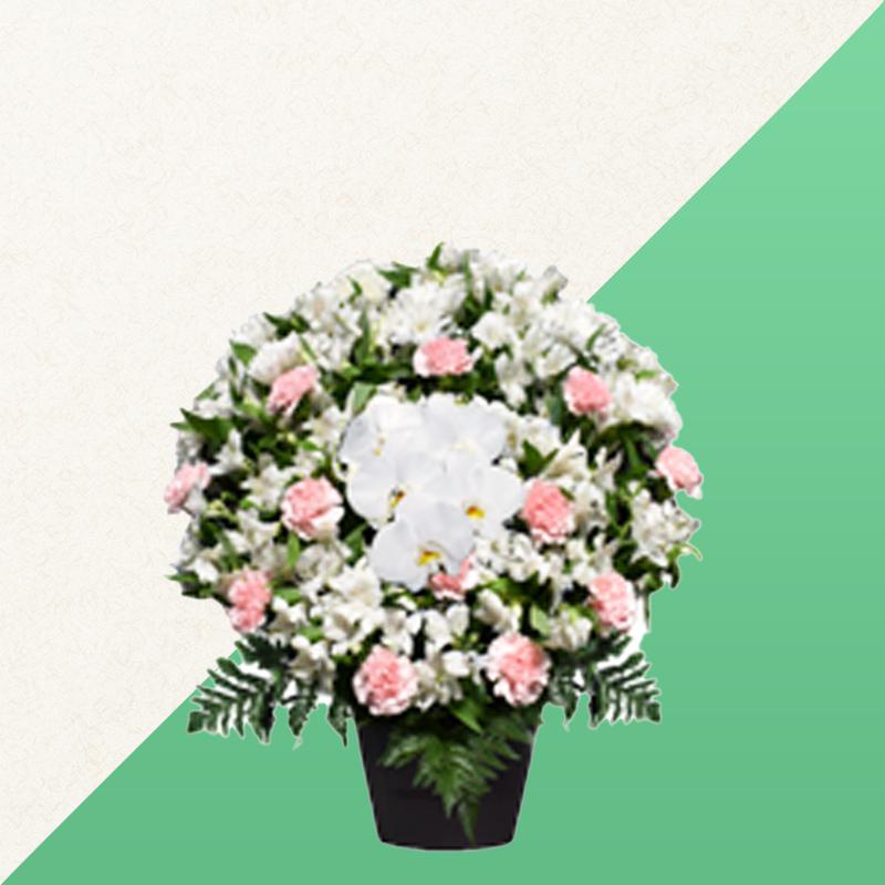 ファミリーホール鶴ヶ峰、供花のご注文・洋花 16,500円